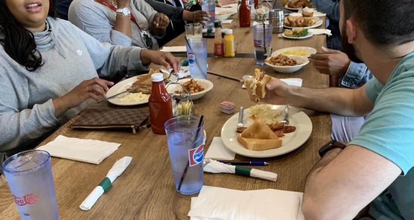 April's Team Breakfast